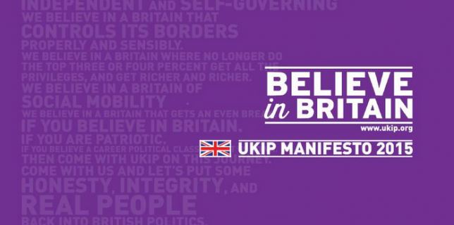 manifesto - believe in Britain